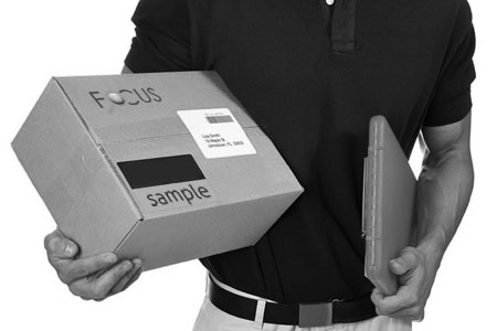 Sample Delivery : Product Detection, Send by Express Courier